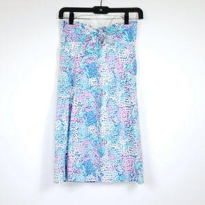 Lilly Pulitzer Dresses - Lilly pulitzer tie back strapless dress sz00